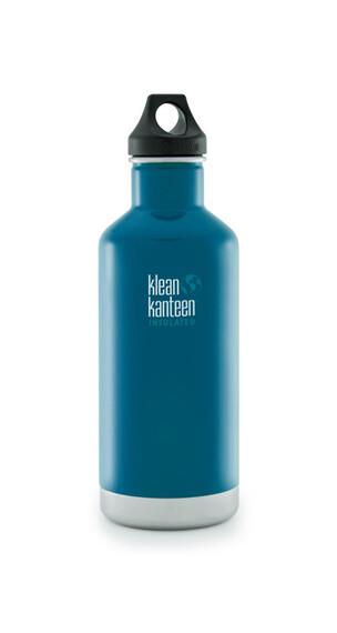 Klean Kanteen Classic Insulated Termoflaske Loop Cap 946ml blå